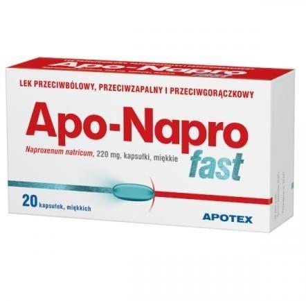 APOTEX Apo-Napro Fast 20 kapsułek  3398862