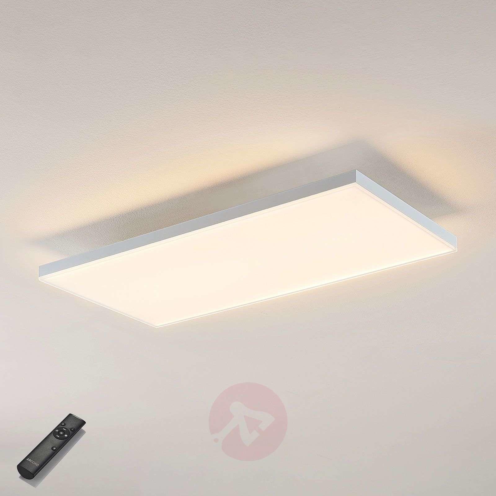 Lampenwelt com Panel LED Blaan CCT z pilotem 59,5 x 29,5 cm