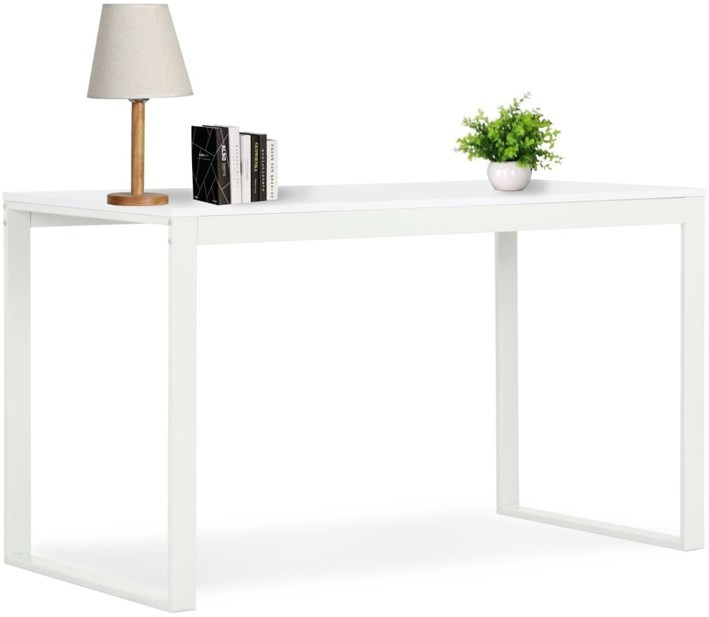 vidaXL Biurko komputerowe, białe, 120 x 60 x 73 cm vidaXL