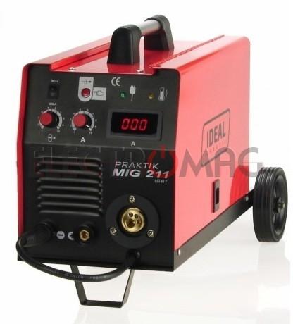 IDEAL IDEAL PRAKTIK MIG 211 MMA DIGITAL - migomat PMIG211MMA