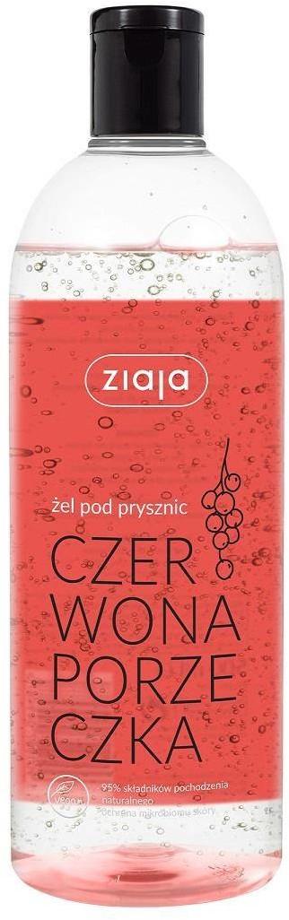 Ziaja Vegan żel pod prysznic Czerwona Porzeczka 500ml 96926-uniw