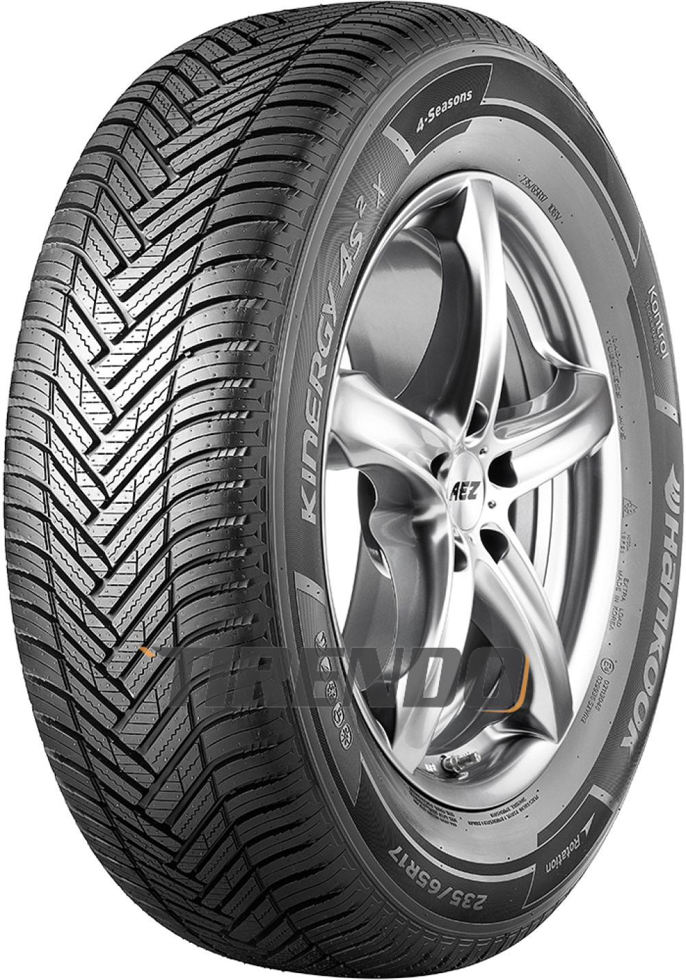 Hankook Kinergy 4S X H750A 255/55R20 110Y