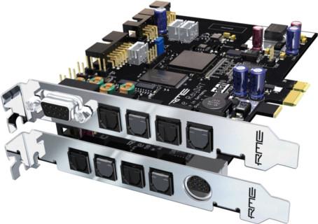 RME HDSPe RayDAT - karta Audio