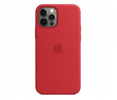 Apple Silikonowe etui iPhone 12|12Pro PRODUCT RED
