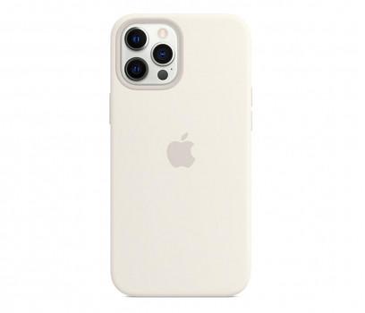 Apple Silikonowe etui iPhone 12 Pro Max białe