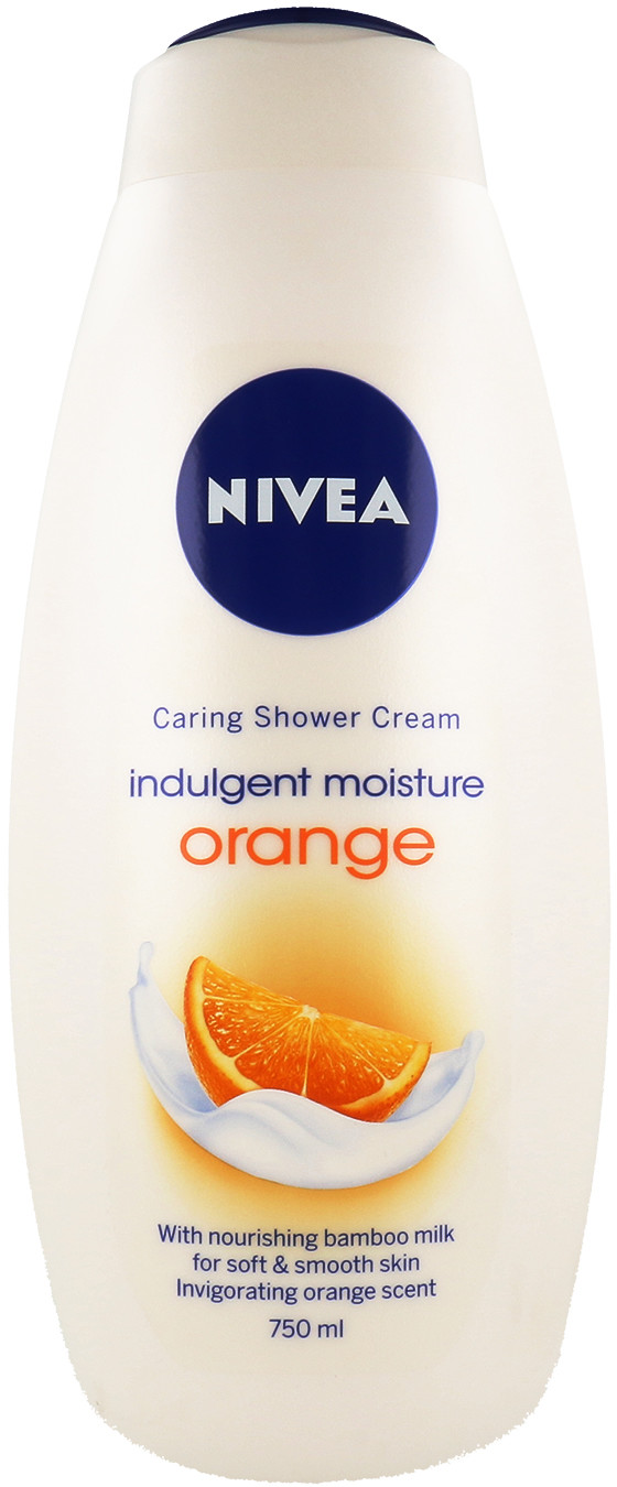 Nivea Indulgent Moisture Orange Płyn Do Kąpieli 750ml