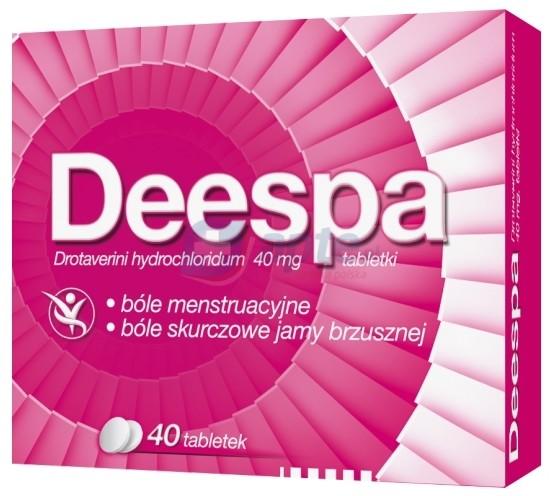 Polpharma Deespa 40mg x40 tabletek