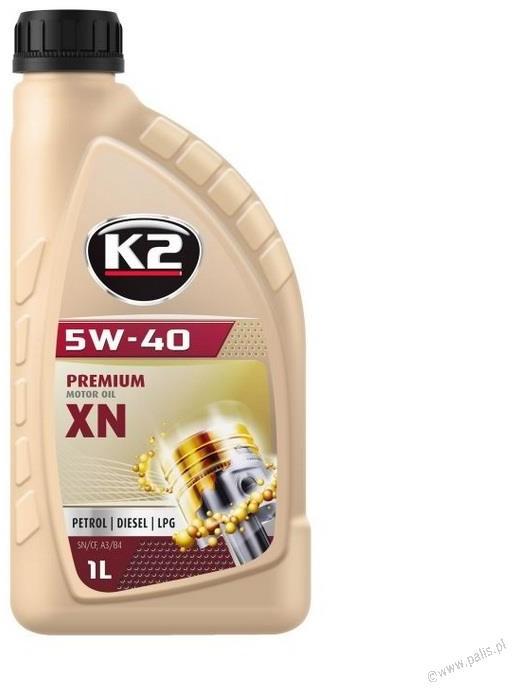 K2 TEXAR 5W40 XN 1L
