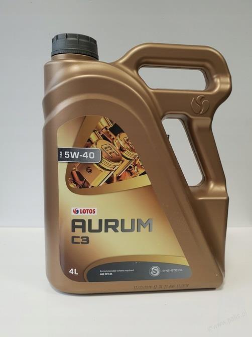 Lotos AURUM C3 SAE 5W40 4L
