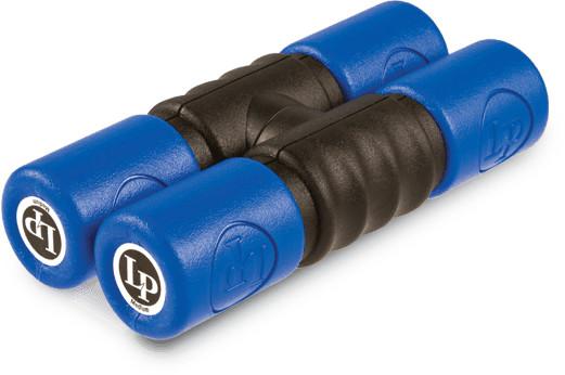 Latin Percussion LP441T-M Twist Shaker Medium Blue
