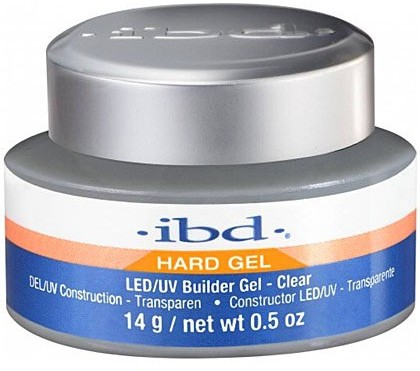 IBD Hard Gel Led/Uv Builder Clear 14g