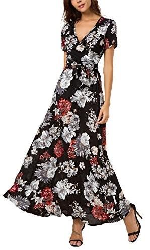 3ae96c82c01c Odkryj tą idealną ZALANDO  1a0e624f65c4 Boho kormei damskie kwiaty maxi  sukienka bohema Lang sukienki sukienka letnia sukienka plażowa impreza