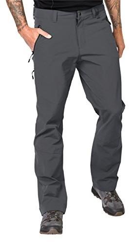 Jack Wolfskin Activate XT spodnie męskie, hydrofobowe, softshellowe, szary, 54 1503751-6116054