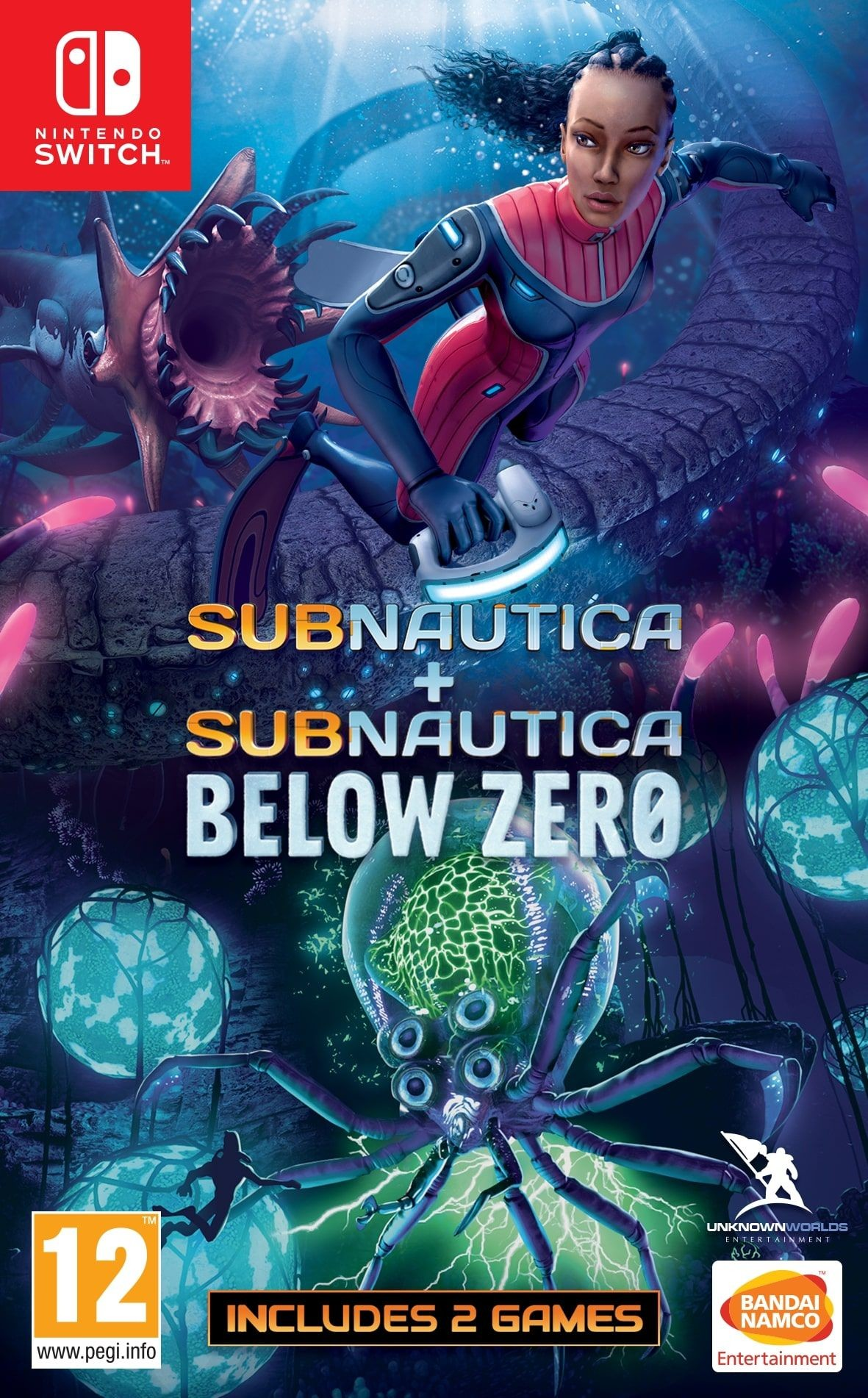 Subnautica + Subnautica Below Zero (GRA NINTENDO SWITCH)
