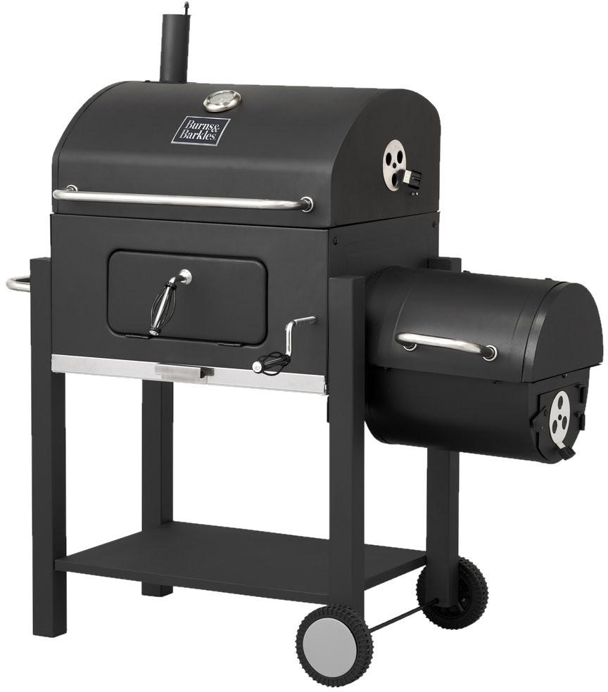 BURNS & BARKLES Grill węglowy zwędzarnią Coal King S-5442