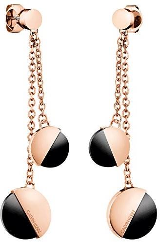 Calvin Klein E-ring Spicy pvdpnk po BLK ony, kj8rbe140200 KJ8RBE140200