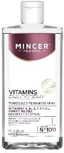Mincer Pharma Vitamins Philosophy Płyn micelarny tonizujący nr 1011 250ml MINCER
