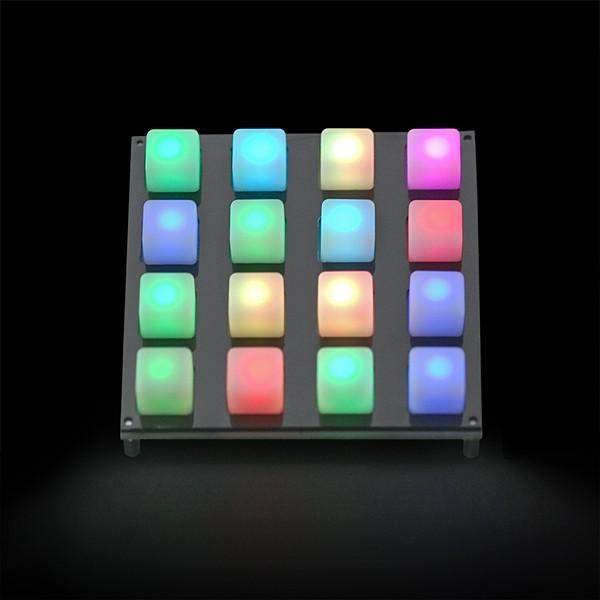 Panel na klawiaturę 4x4 - kompatybilny z diodami LED SPF-02272