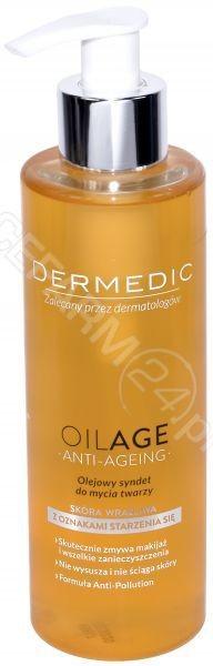 Biogened S.A DERMEDIC OILAGE ANTI-AGEING Olejowy syndet do mycia twarzy 200 ml 7071138
