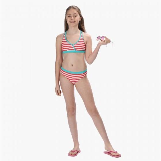 Regatta Dziewczęce kąpielówki Hosanna SwimBrief niebieskie