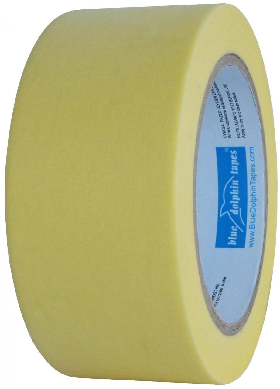 BlueDolphin Xl - tape Taśa maskująca mt-st (Y) 38mmx50m papierowa żółta AAWKJZ