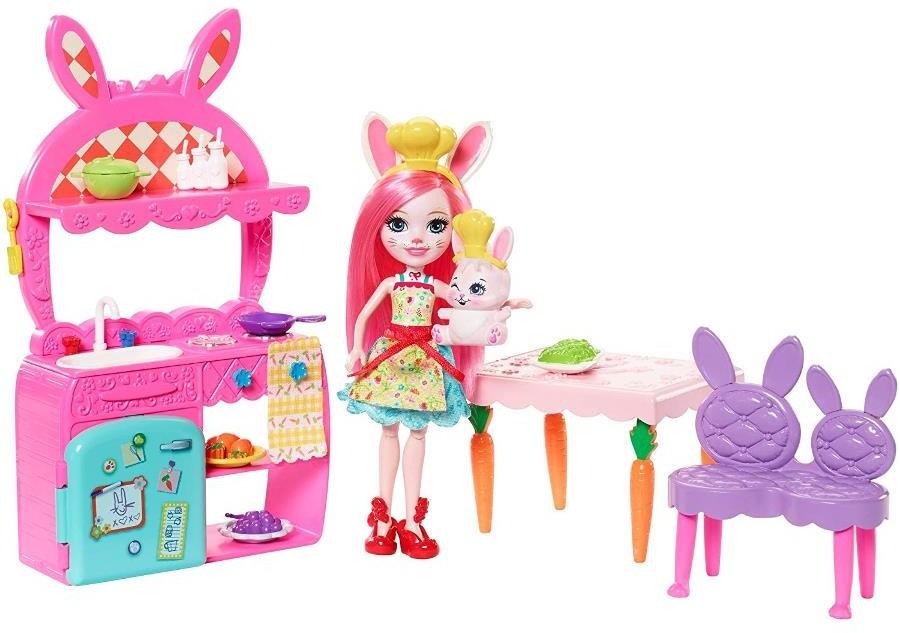 Mattel Enchantimals Kuchnia z lalką Bree Bunny FRH44 FRH47
