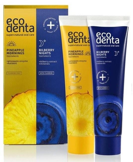ecodenta EcoDenta Zestaw past do zębów 2x100ml 43842-uniw
