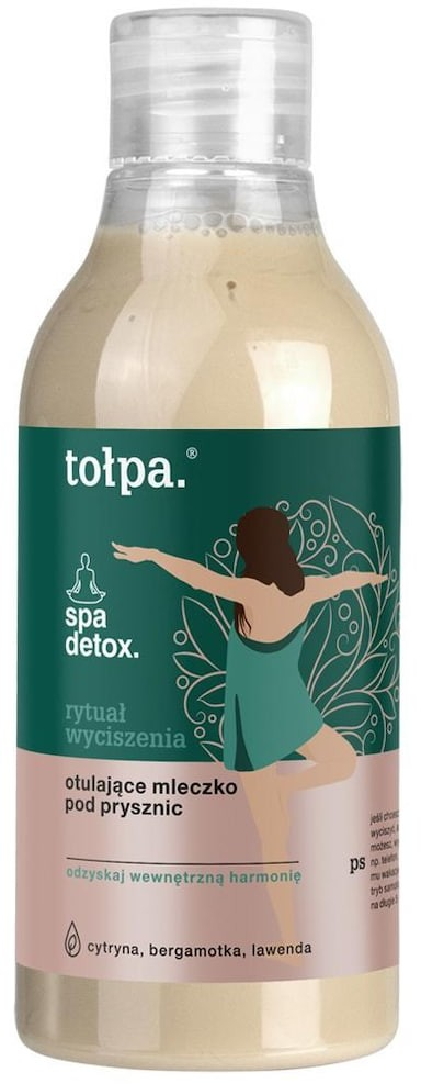 Tołpa Spa Detox spa detox rytuał wyciszenia otulające mleczko pod prysznic 300 ml