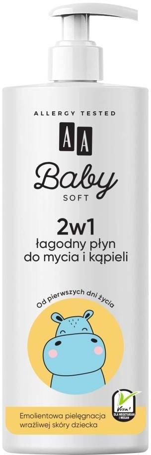 Oceanic Baby Soft 2w1 łagodny płyn do mycia i kąpieli 500ml