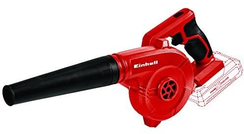 Einhell dmuchawa akumulatorowa TE-CB 18/180 Li - Solo Power X-Change TE-CB 18/180 Li - 18 V, strumień powietrza do 180 km/h, prędkość obrotowa biegu jałowego 15 500 min, w zestawie 3 x adapter do nadm
