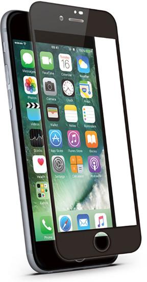 KMP KMP Szkło ochronne do iPhone 8 Plus (czarny) 1417666001