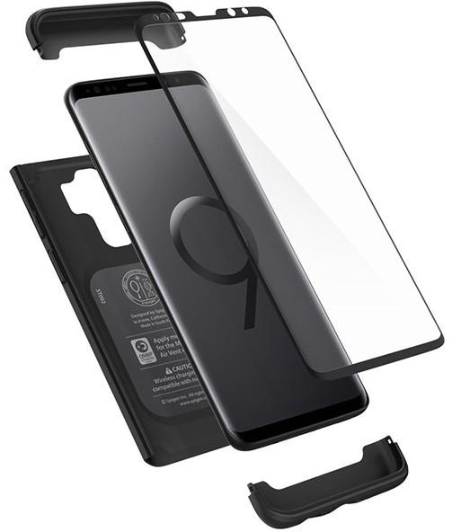 Spigen Thin Fit 360 593CS22959 Samsung Galaxy S9+ (czarny)