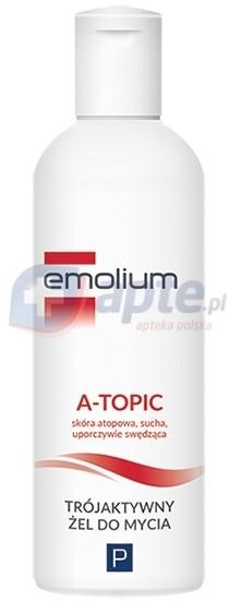 Emolium P żel trójaktywny do kąpieli 200ml