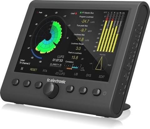 TC electronic CLARITY M - miernik głośności stereo i audio 5.1