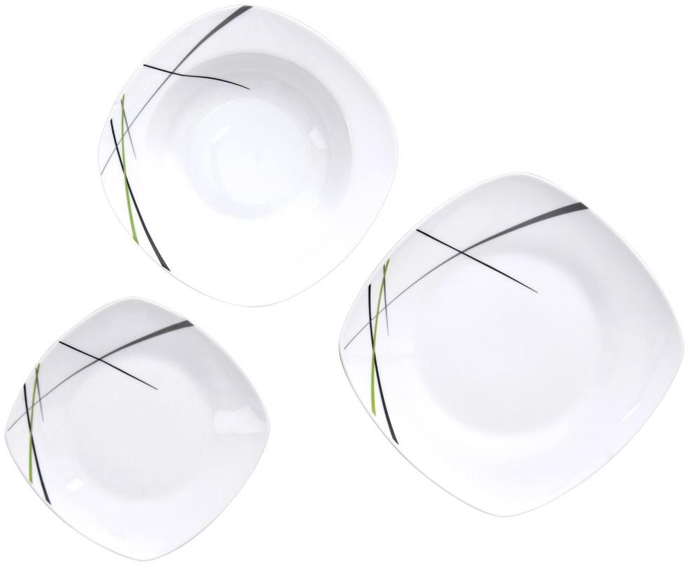 Orion Serwis obiadowy zestaw talerzy komplet 18 el. 112352
