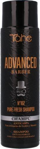 Tahe advanced barber Tahe Advanced Barber 102 Pure Fresh szampon przeciwłupieżowy 300ml TA/12091111