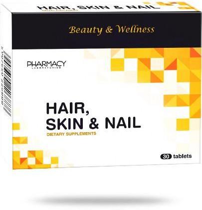 Pharmacy Laboratoires Hair, Skin & Nail 30 tabletek 3584821