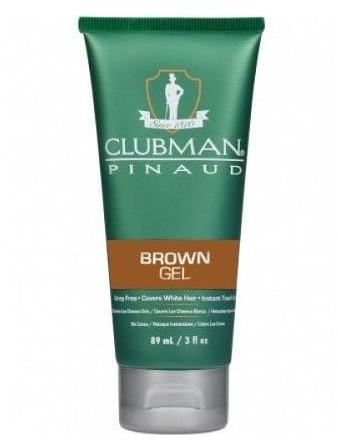 CLUBMAN PINAUD Gel Brown żel koloryzujący włosy brązowy 89 ml Clubman Pinaud CLU000022