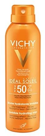 Vichy Ideal Soleil przezroczysty przeciwsłoneczne Spray LSF 50, 200 ML 2525123