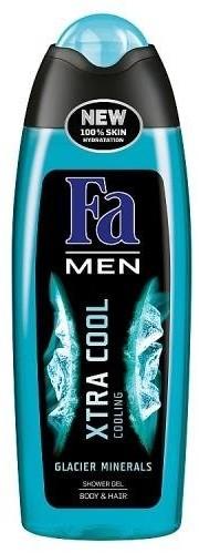 Fa Men Xtra Cool Shower Gel żel pod prysznic do mycia ciała i włosów dla mężczyzn 250ml