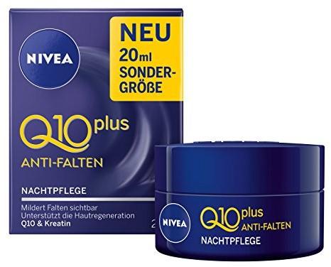 Nivea Q10 Plus Przeciwzmarszczkowa noc pielęgnacji, pielęgnacji twarzy, szt. (3 X 20 ML) 84236_1