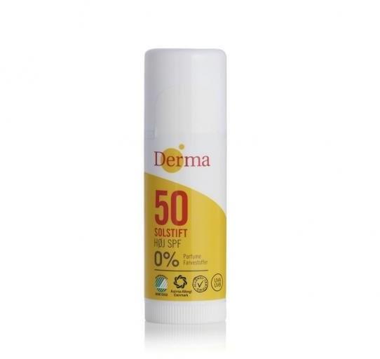 Derma Derma Sun Sztyft słoneczny SPF 50 - 15 ml DER317