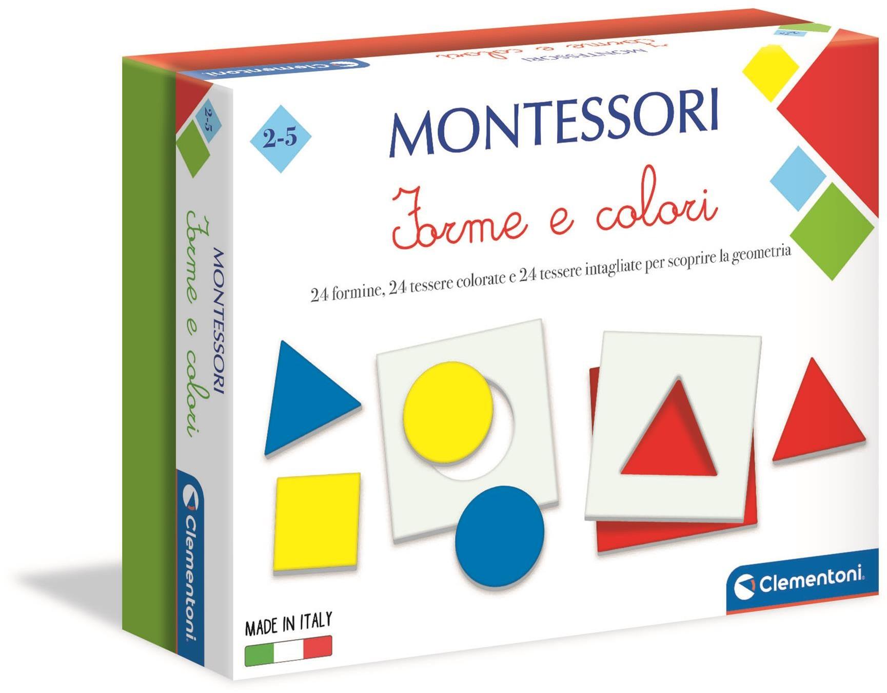 Clementoni Montessori Kształty i kolory 50692