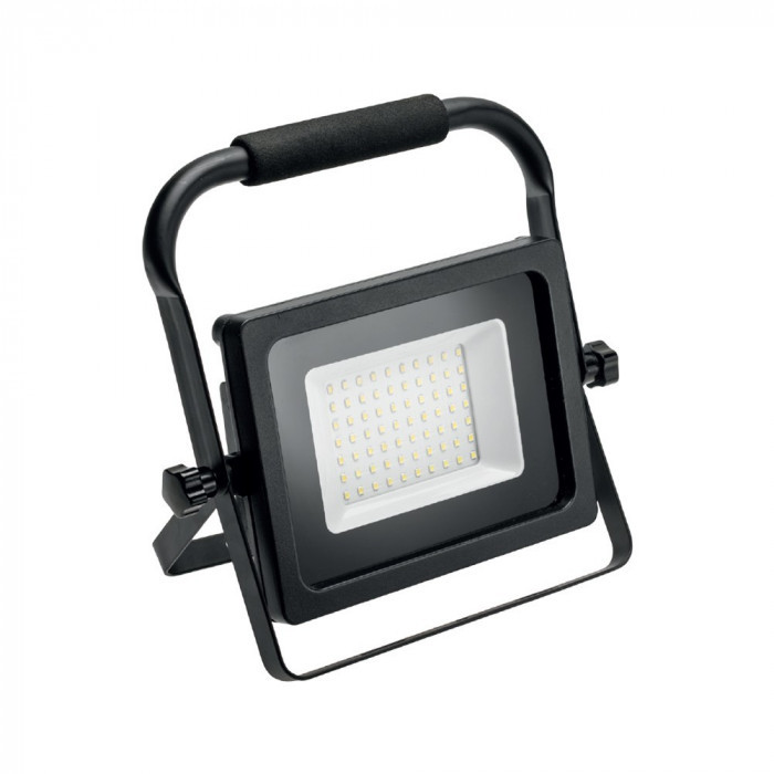 GTV Naświetlacz LED przenośny z rączką 50W INEXT barwa zimna biała LD-INEXT50WP-64