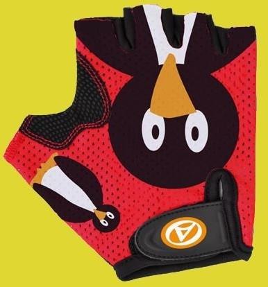 Author Rękawiczki dziecięce Junior Pinguin czerwone M