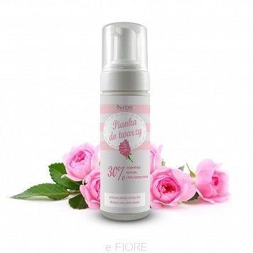 E-fiore Pianka do mycia twarzy Róża Damasceńska 150ml dro000077
