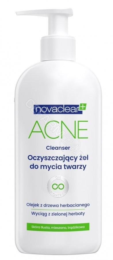 Equalan Novaclear+ Acne oczyszczający żel do mycia twarzy 150 ml