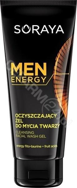Soraya Men Energy Żel oczyszczający do mycia twarzy 150ml