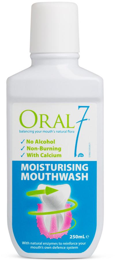 Oral7 ORAL7 Moisturising Mouthwash 250ml - nawilżający płyn płukania jamy ustnej