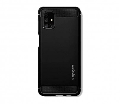 Spigen Rugged Armor do Galaxy M51 czarny